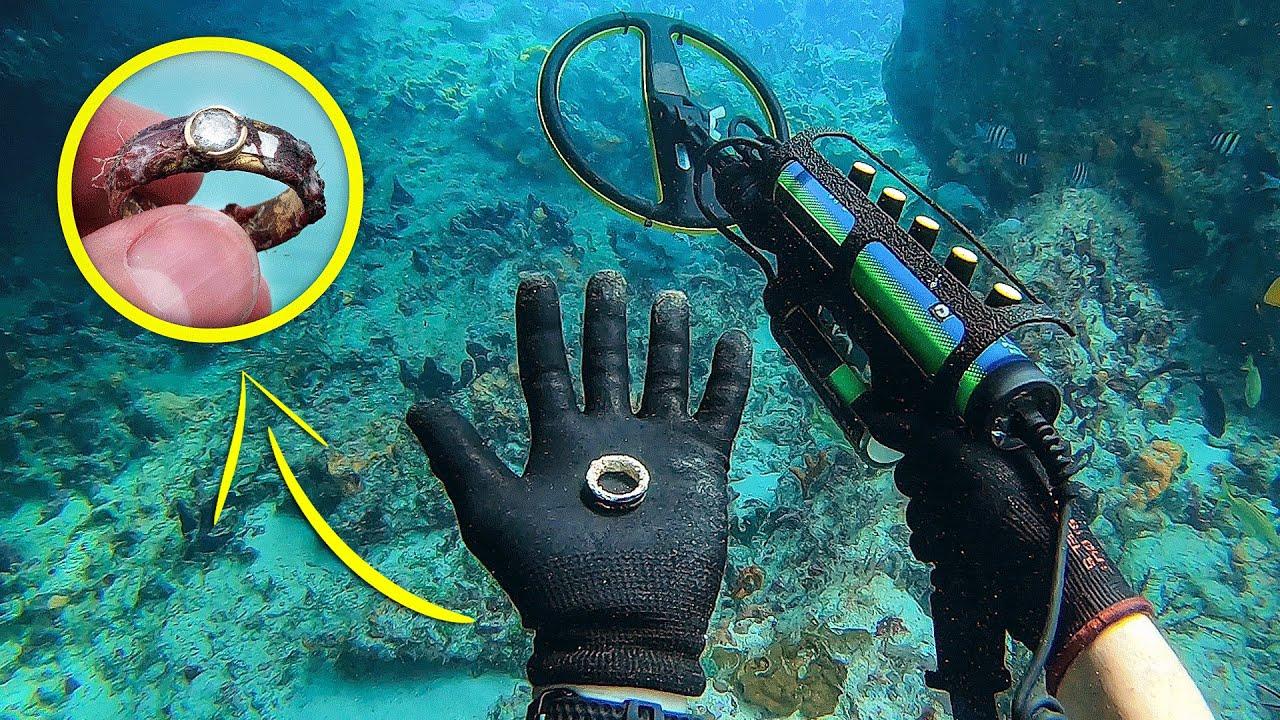 Found $10,000+ Wedding Ring While Scuba Diving The Bahamas