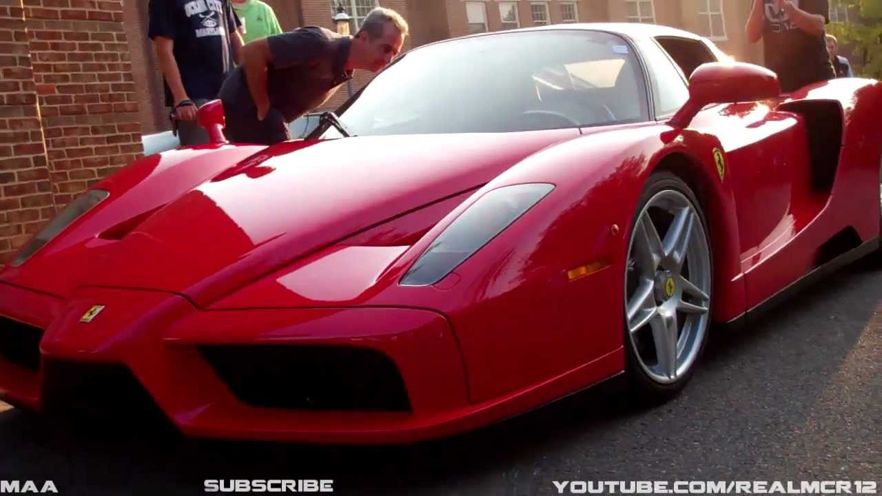 Ferrari enzo start up engine interior youtube vanachro Images