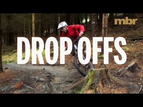 How to ride drop offs on a MTB