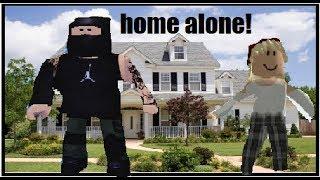 HOME ALONE :ROBLOX SHORT MOVIE