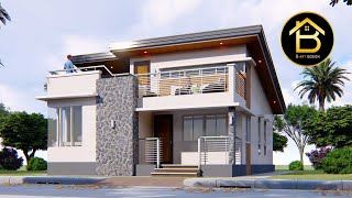 Small House Design  8x11m