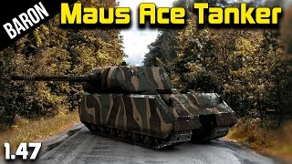 War Thunder Maus Tank Ace - The Mighty Mouse in RB - War Thunder Tanks 1.47