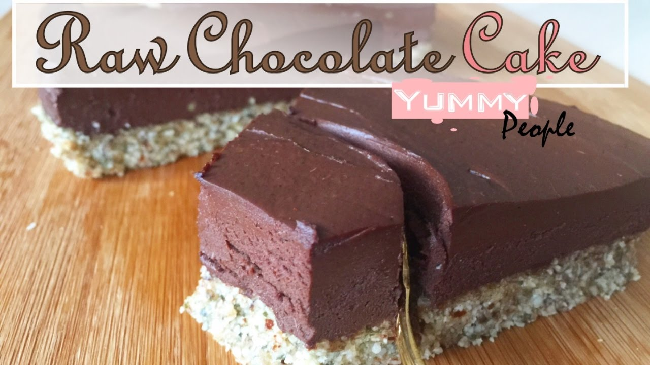 How to make raw vegan chocolate cake easy recipe youtube how to make raw vegan chocolate cake easy recipe forumfinder Gallery