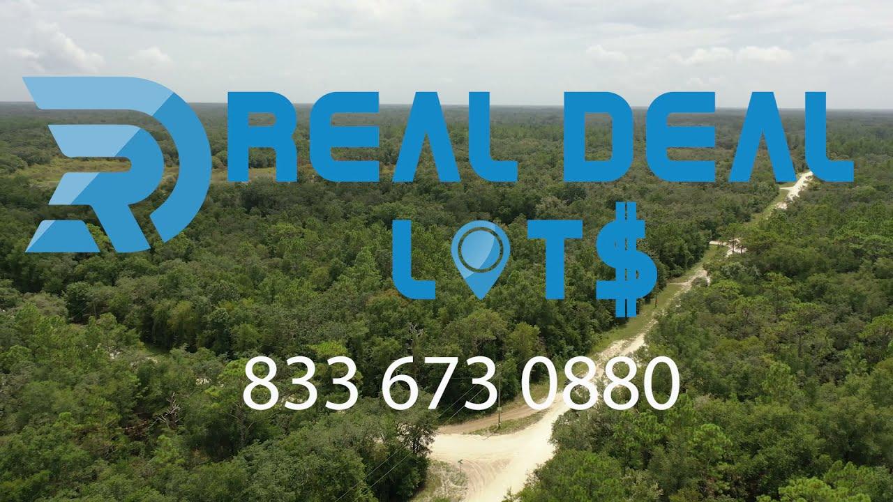 Your HUGE 0.98 AC Corner LOT Waits just FOR YOU, Webster, Hernando County, Florid, $18,245!