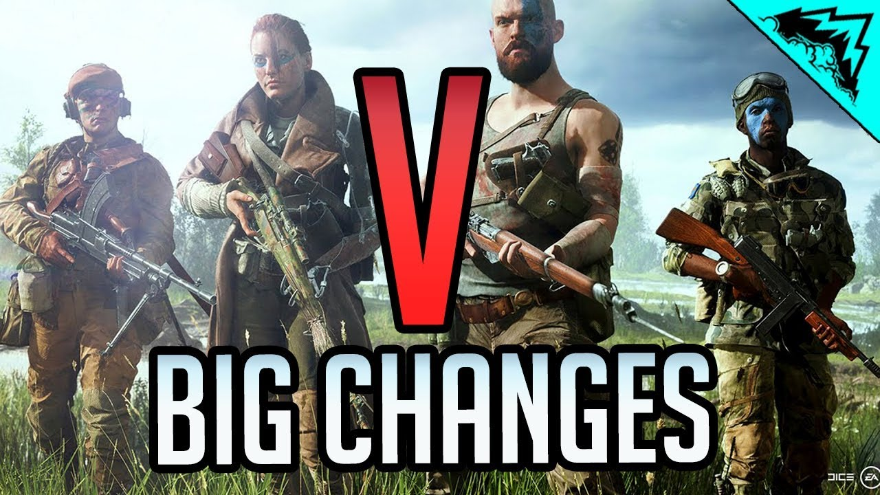 5 BIGGEST CHANGES in Battlefield 5