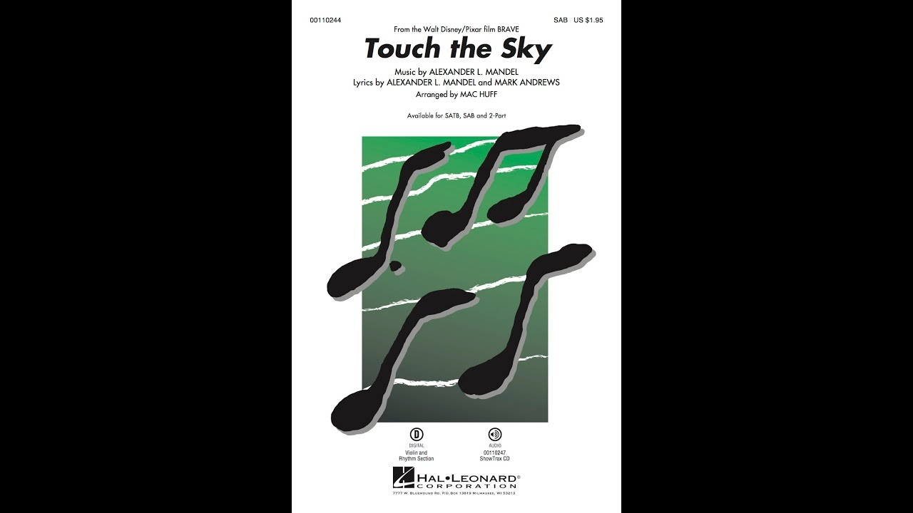 Touch The Sky (from Brave) Sheet Music By Alexander L