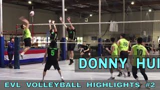 Donny Hui Volleyball Highlights PART 2 - Elevate Volleyball League 2018