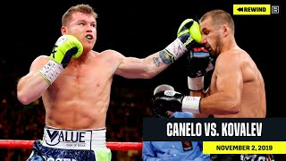 FULL FIGHT | Canelo vs. Sergey Kovalev (DAZN REWIND)
