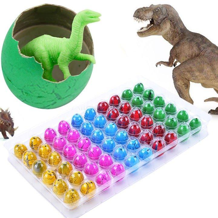Игрушка-сюрприз яйцо динозавра и робот с aliexpress. Toy Surprise .