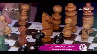 السفيرة عزيزة-  تقرير ..مينا جرجس.. يصنع من الأخشاب ألعابا معدلة من ابتكاره للمكفوفين