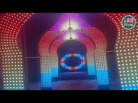 Arch Gate Pixel led from Egypt by Sobhy Hegazy