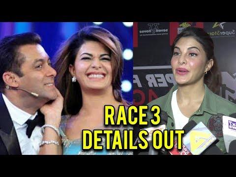 Jacqueline Fernandez REVEALS Salman Khan's Race 3 Shoot Details
