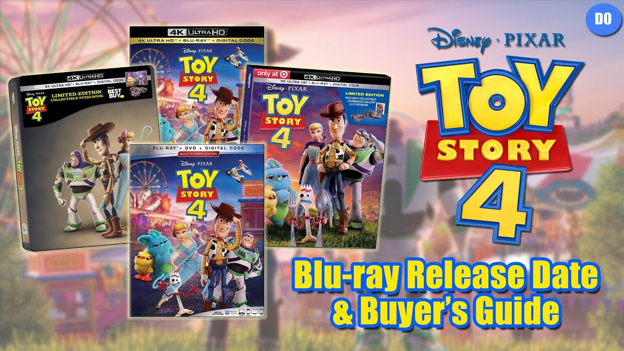 when does toy story 4 come out on dvd
