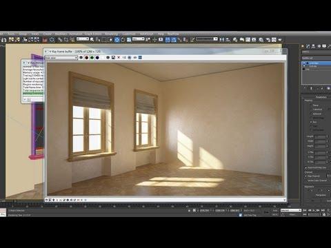 3DsMax VRay - Modeling, Lighting & Rendering