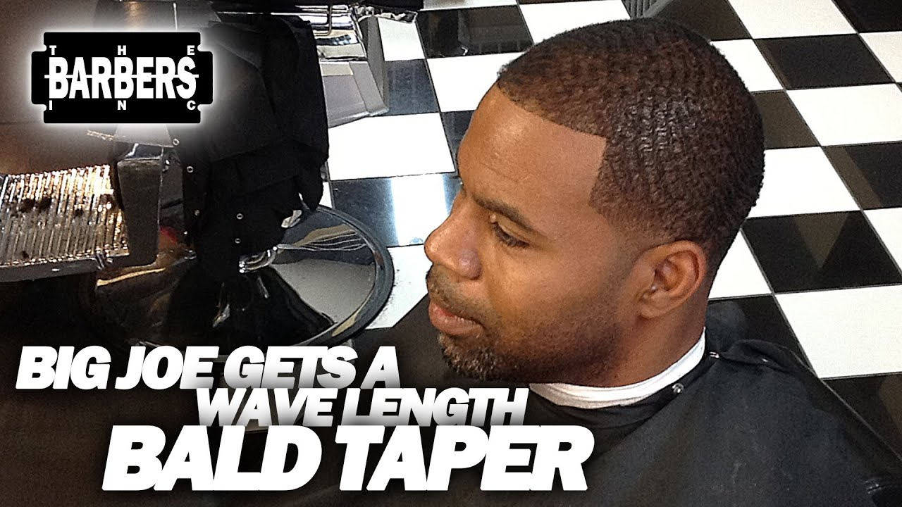 How To Bald Taper W Waves African American Black Ethnic Hair
