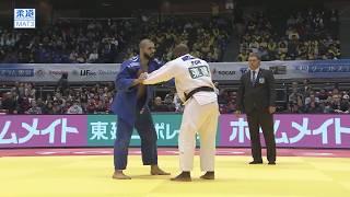 柔道グランドスラム東京 男子100kg級 3位決定戦 ボーラーvsニキフォロフ