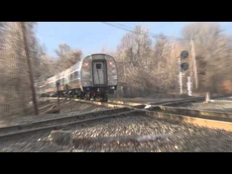 A few trains at the Steaming Tender in Palmer Massachusetts