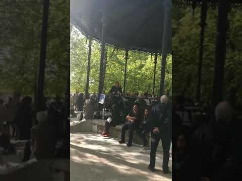 Le kioske à musique du  Jardin du Luxembourg, Paris, Eté 2016