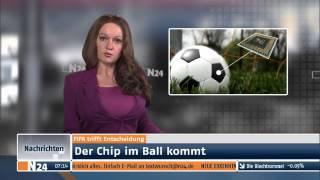 N24 News: Der Chip im Ball