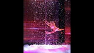 Yeva Shiyanova   Pole dance show in fluff   Semifinal   Nichieri   Beyonce - Crazy in love