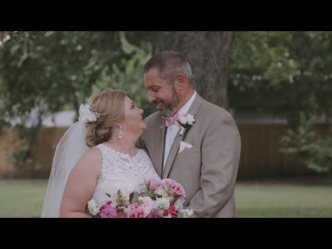 Battling Cancer, Bride is Given Dream Wedding | Restore House Wedding Tracy and Martin