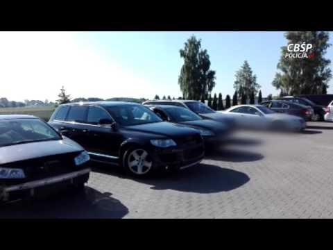 Lubelski CBŚP rozbił gang złodziei samochodów