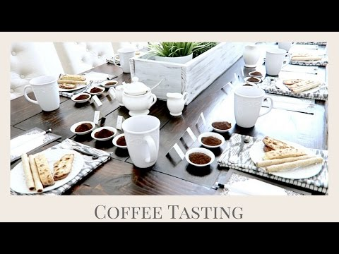 HOW TO HOST A COFFEE TASTING | GIRLS NIGHT IN PARTY IDEA |ENTERTAINING TIPS