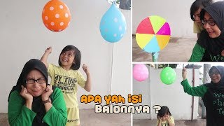 Mystery Wheel of Balon Surprise Yaya Jadi Berani Meletusin Balon sendiri