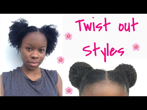 How To Style Fresh Or Old Twist Out Natural Hair Jpclip Net