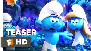 Smurfs: The Lost Village Official Trailer - Teaser (2017) - Animated Movie
