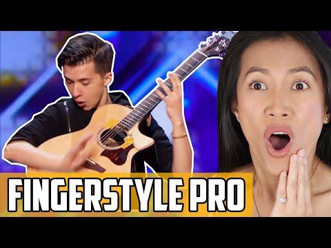 Marcin Patrzalek - Epic Guitar Mash-up Reaction | Fingerstyle Extreme On America's Got Talent (AGT)
