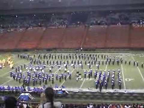 "Pirates!!!: 2005 Moanalua H.S. ""Menehune"" Marching Band & Color Guard- Close View"