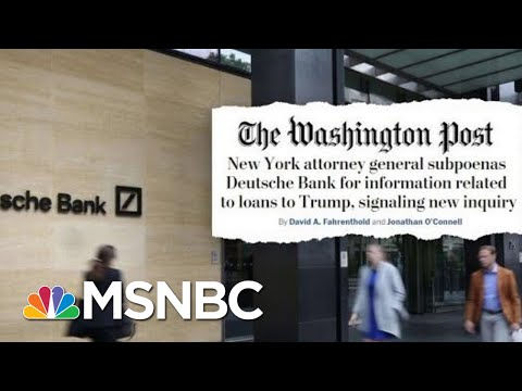 Trump's Presidential Harassers Grow As New York's AG Probes Deeper Into Trump Org | Deadline | MSNBC