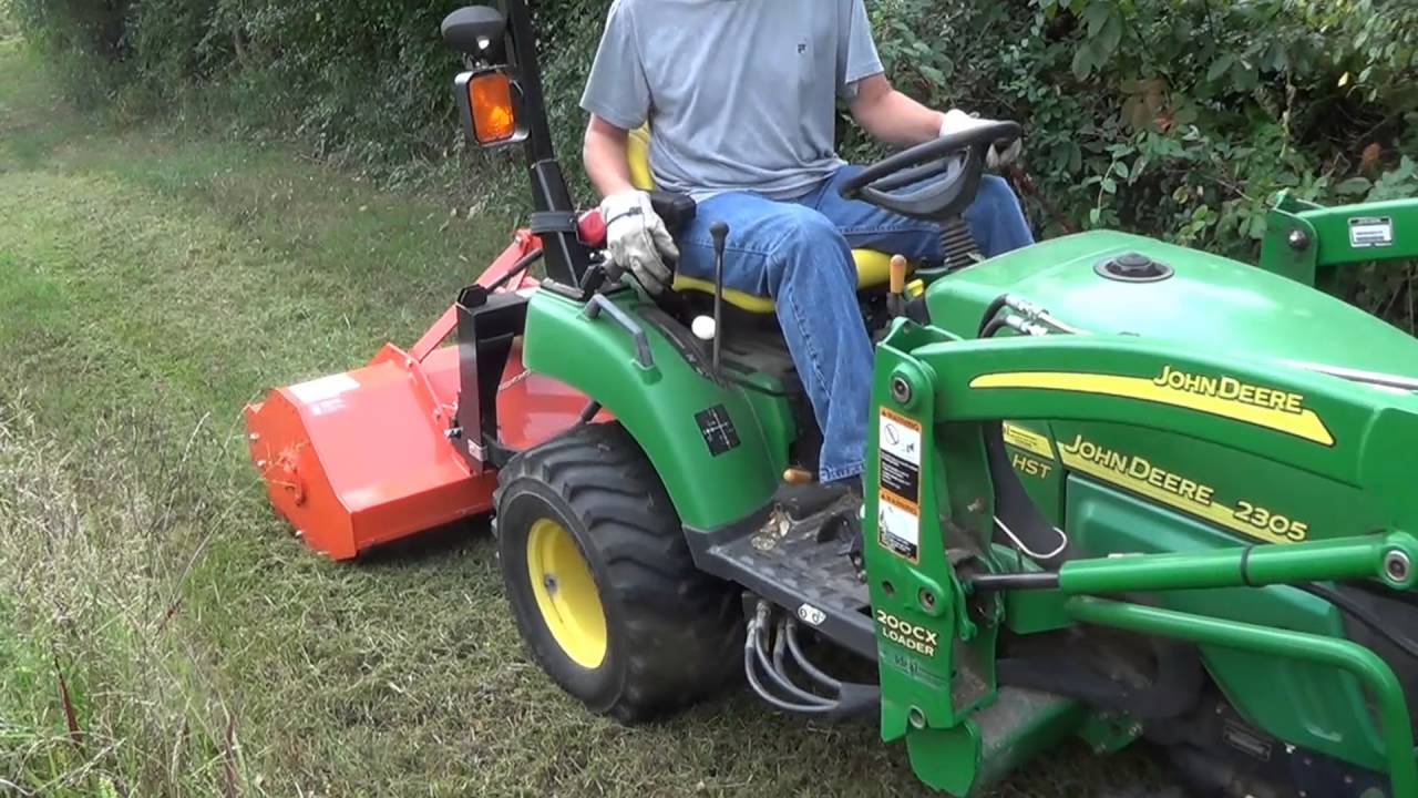 Caroni Flail Mower 73 : Top reasons a flail mower rocks youtube