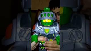 Lego Nexo Nights обзор. Часы- будильник.