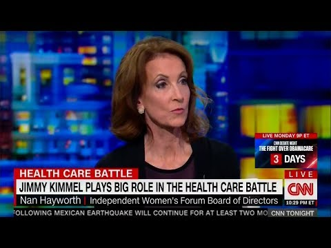 Jimmy Kimmel should not be leading voice on healthcare • CNN Tonight (09.22.17)