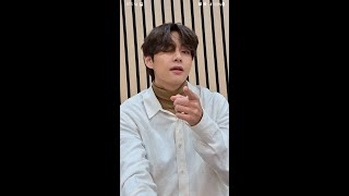 BTS (방탄소년단) 'Life Goes On' (Video Call ver.) - V