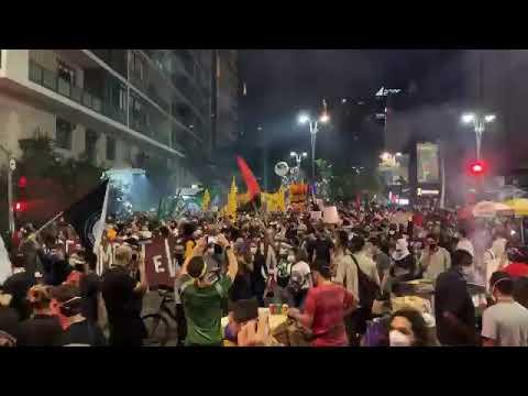Fora Bolsonaro PAULISTA com CONSOLAÇÃO !!