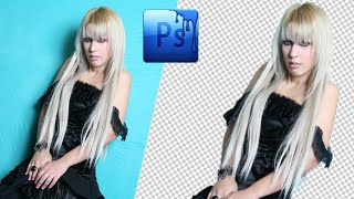 Photoshop :How To Cut Out Photo Remove Background in Photoshop cs5