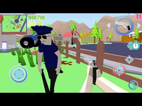 Dude Theft Wars Game Update # Hack Game/ All Guns   by Poxel Studios   Android GamePlay FHD