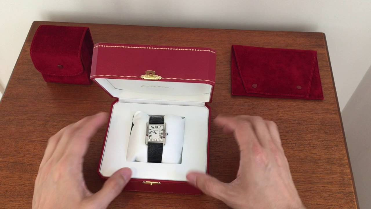 e676b89bf11b Cartier Tank Solo Steel - a timeless classic - YouTube