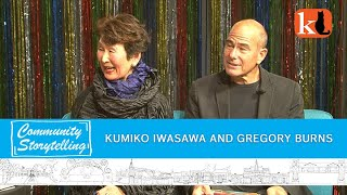 JAPANESE ART & CULTURE IN LOS GATOS  /  KUMIKO IWASAWA & GREGORY BURNS