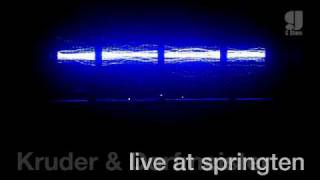 Kruder & Dorfmeister live @ springten, 15.05.2010