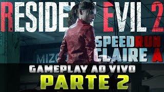 Resident Evil 2 Remake | Claire A | TENTANDO SPEEDRUN | Parte 2