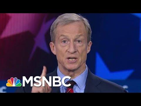 Tom Steyer, Joe Biden, And Bernie Sanders Spar On Climate Change | MSNBC