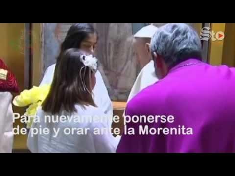 VIDEO: El tropiezo del Papa en su visita a México