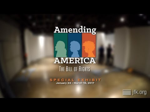 Amending America: The Bill of Rights Exhibit Installation Time-Lapse