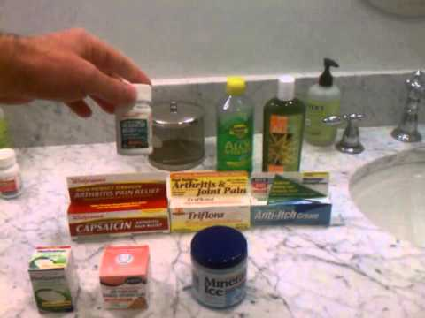 Shingles treatment, Fast shingles pain relief, pain medications and topical products - PART 1