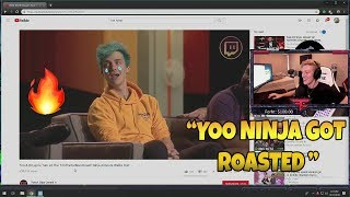 Tfue Reacts To DR LUPO ROASTING NINJA & TIMTHETATMAN