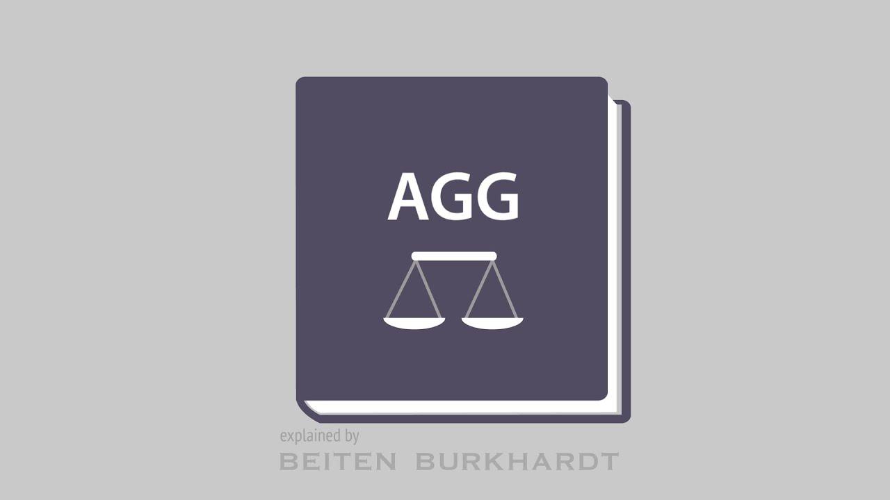 allgemeines gleichbehandlungsgesetz (agg) allgemeines passiv allgemeines #1